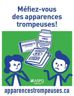 Pour l'Halloween, l'ASPQ démasque l'industrie de l'amaigrissement
