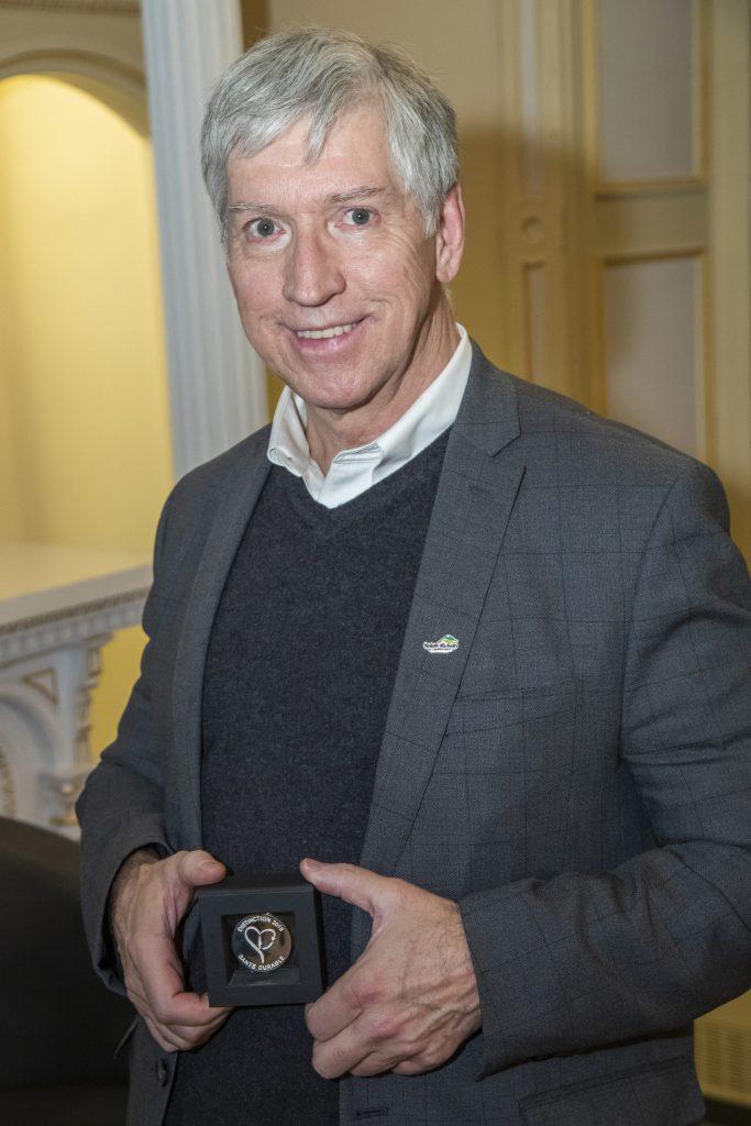Le Maire de la ville de Saint-Bruno-de-Montarville honoré par l'ASPQ