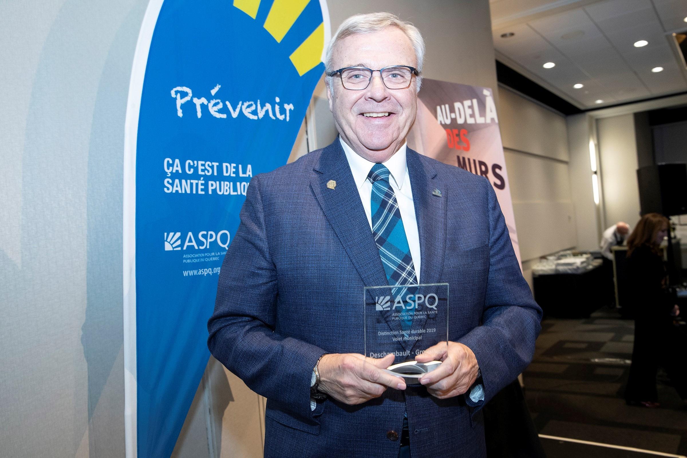 Deschambault-Grondines - Prix Distinction Santé durable 2019 – volet municipal