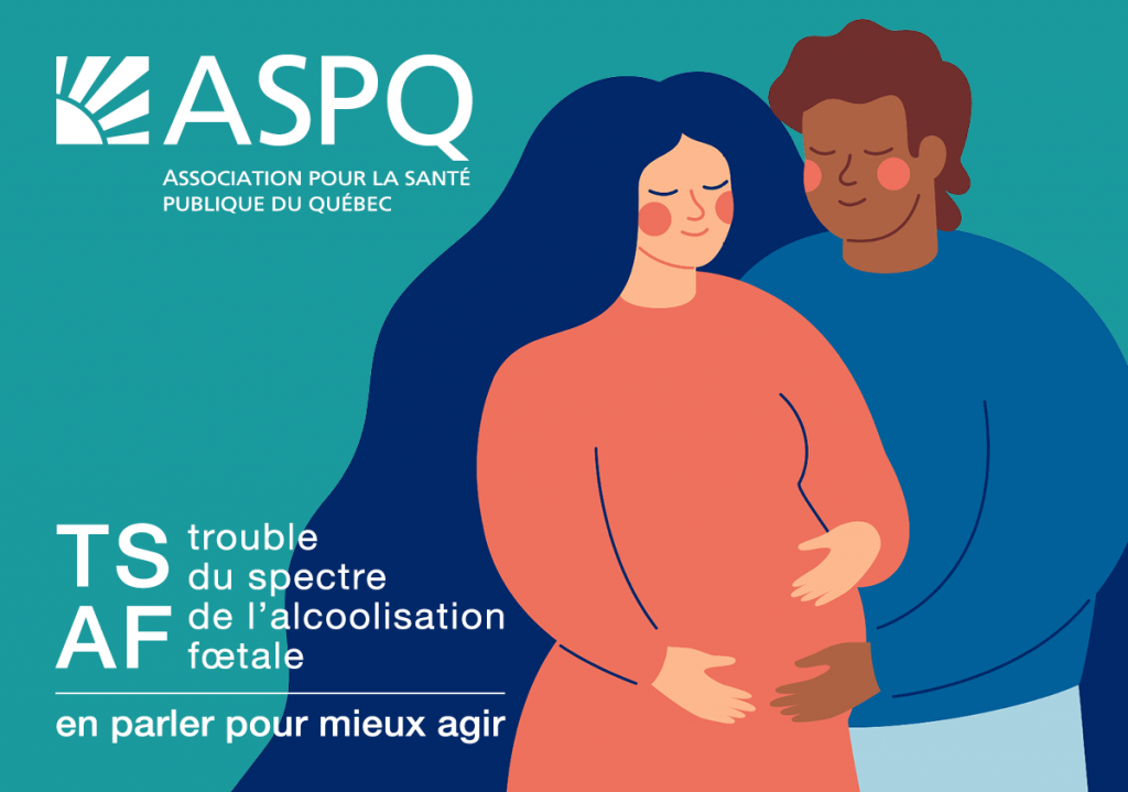 Le trouble du spectre de l'alcoolisation fœtale est méconnu de la moitié des Québécois.es : il faut en parler pour mieux agir!