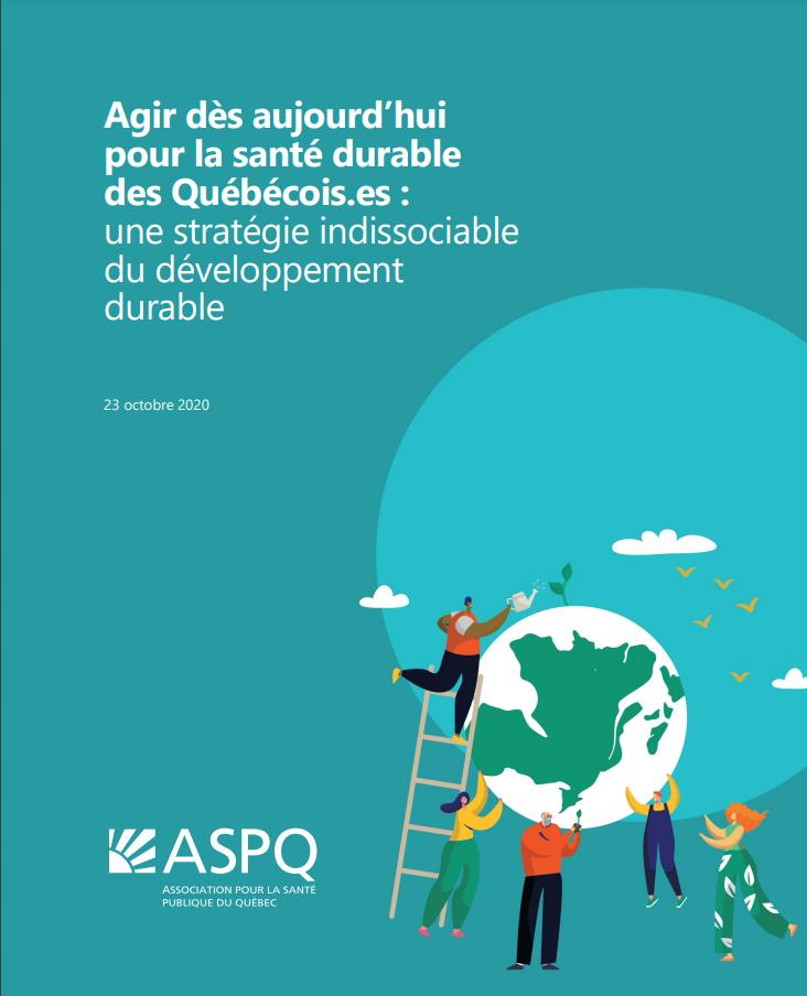 Dépôt du mémoire de l'ASPQ et de la Coalition Poids dans le cadre des Consultations sur le développement durable