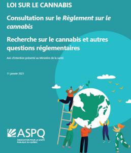 Avis d'intention – Recherche sur le cannabis et autres questions réglementaires