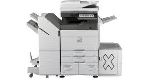 Une super affaire!2 moisde locationgratuitesur unecession de bail de photocopieurMX-6070